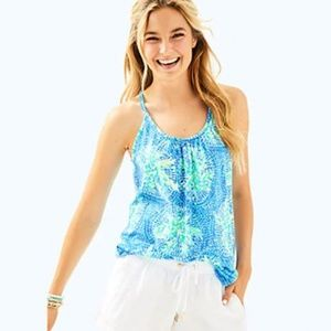 Lilly Pulitzer, Lacy Tank - Tropic Like it's Hot